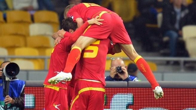 Сборная Украины по футболу опростоволосилась в матче с Черногорией