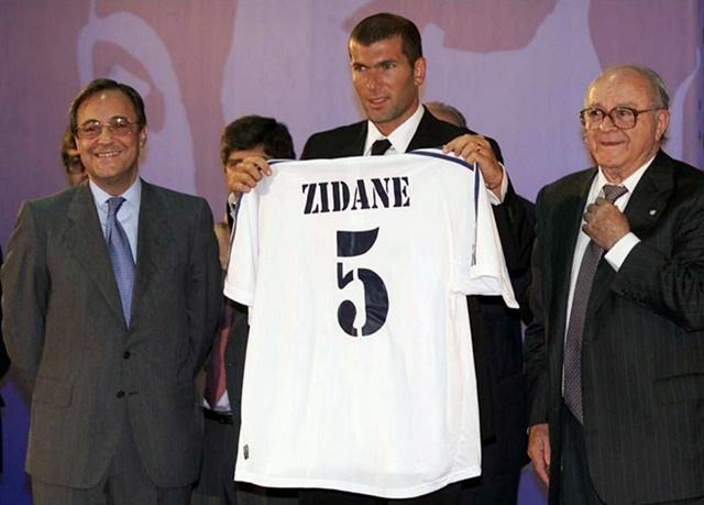 Переход Зизу в мадридский Реал