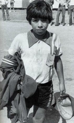 Фото Диего Марадоны в детстве