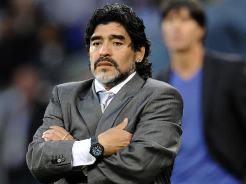 Марадона - фото тренера