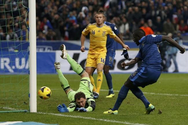 Сборная Украины по футболу в плей-офф Евро-2016