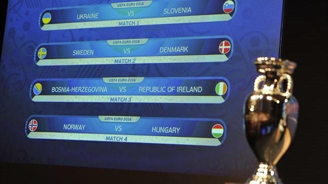 Жеребьевка плей-офф Евро-2016