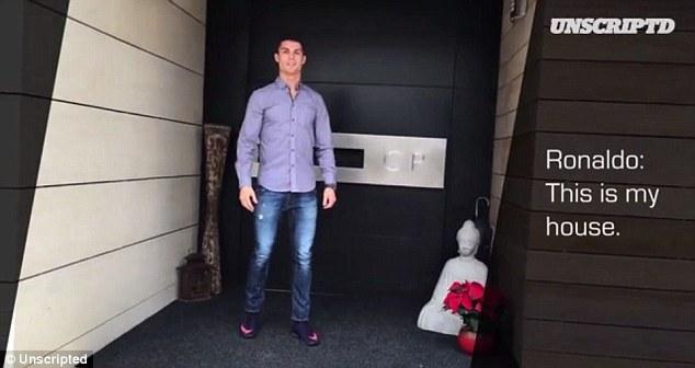 Криштиану Роналду - дом в Мадриде_видео