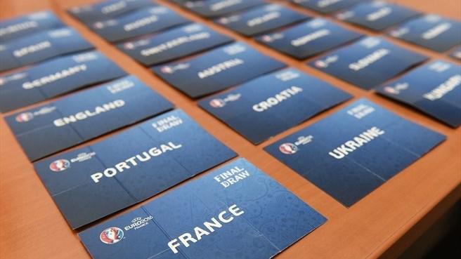 Жеребьевка Чемпионата Европы по футболу 2016