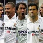 Фото футболистов галактикос мадридский Реал