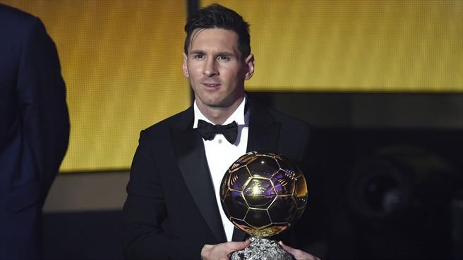 Золотой мяч 2015 для Лионеля Месси