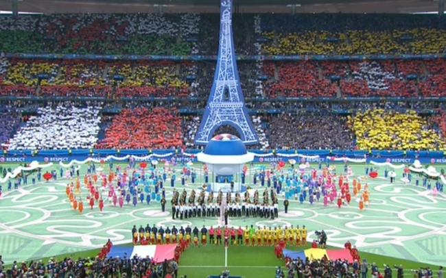 Евро 2016_фото открытия чемпионата