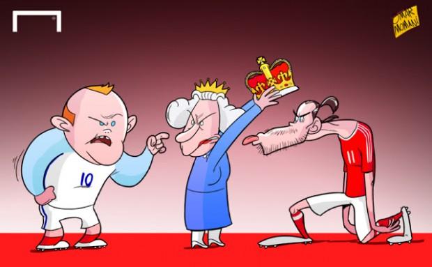 Футбольные карикатуры на Евро-2016 от Омара Момани