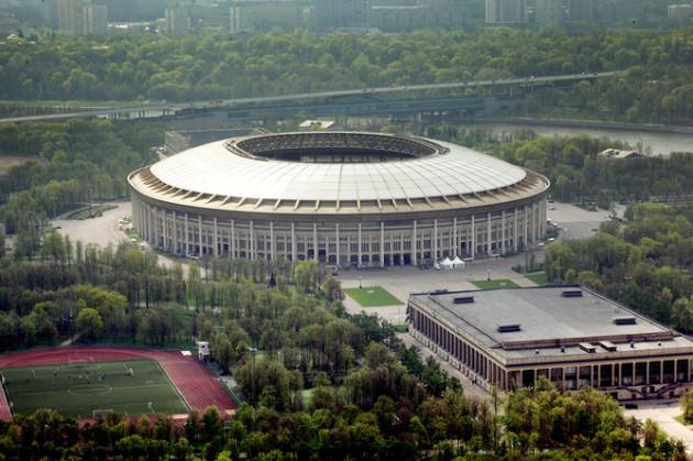 Стадион Лужники в Москве готовится к ЧМ-2018