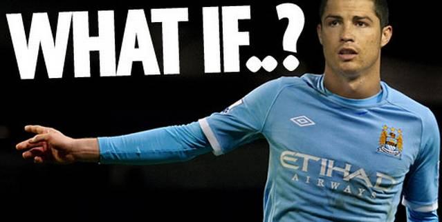 Трансфер Криштиано Роналду в Манчестер Сити