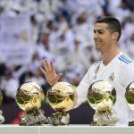 Криштиану Роналду получил пятый Золотой мяч