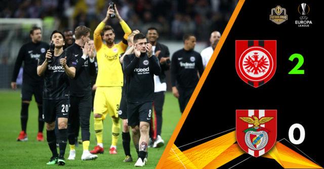 Айнтрахт выходит в полуфинал Лиги Европы