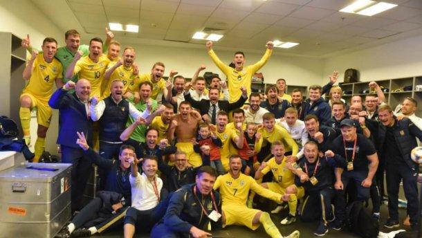 Сборная Украины одолела португальцев и досрочно заняла первое место в группе