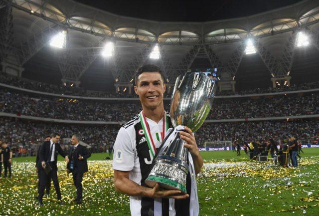 Криштиану Роналду стал чемпионом Италии в составе Ювентуса_фото